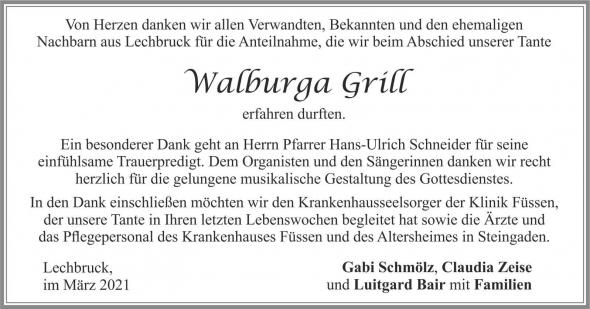 Grill Walburga