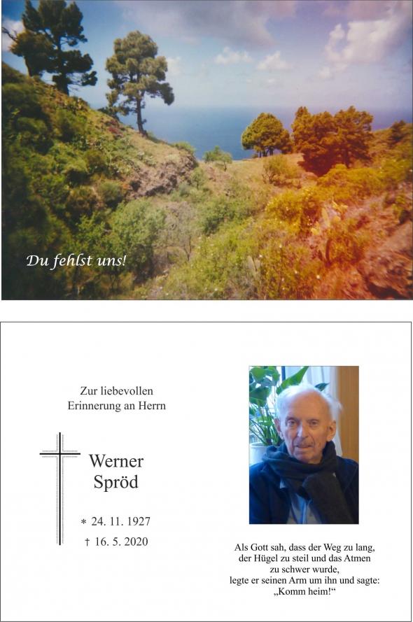 Werner Spröd