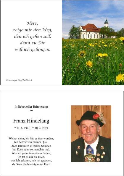 Franz Hindelang