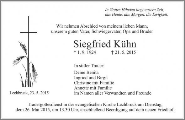 Siegfried Kühn