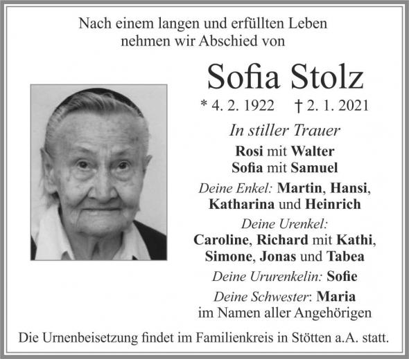 Sofia Stolz