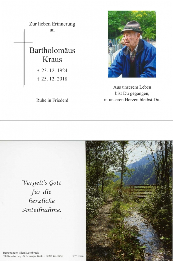 Bartholomäus Kraus