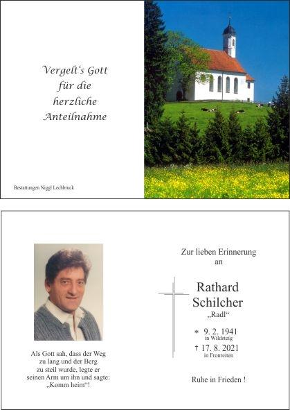 Rathard Schilcher