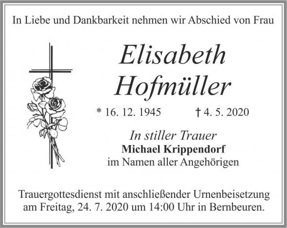 Elisabeth Hofmüller