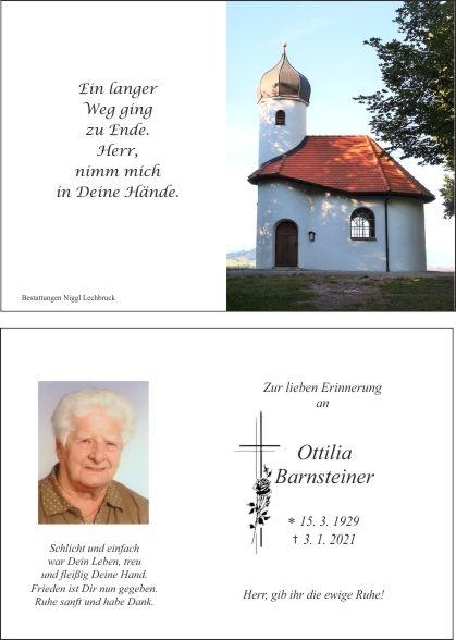Ottilia Barnsteiner