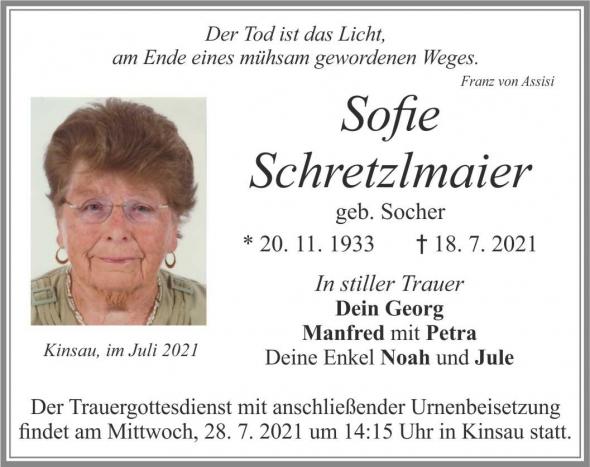 Sofie Schretzlmaier
