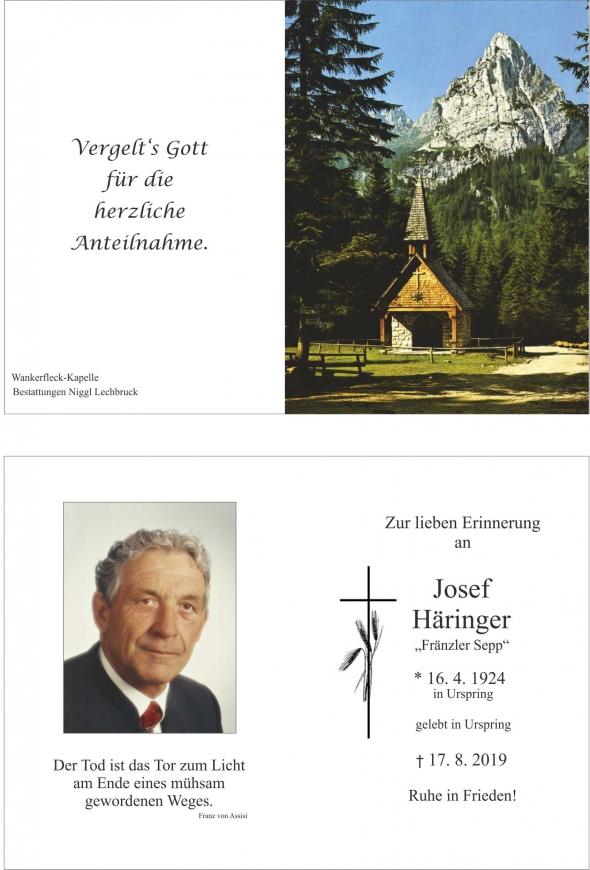 Josef Häringer