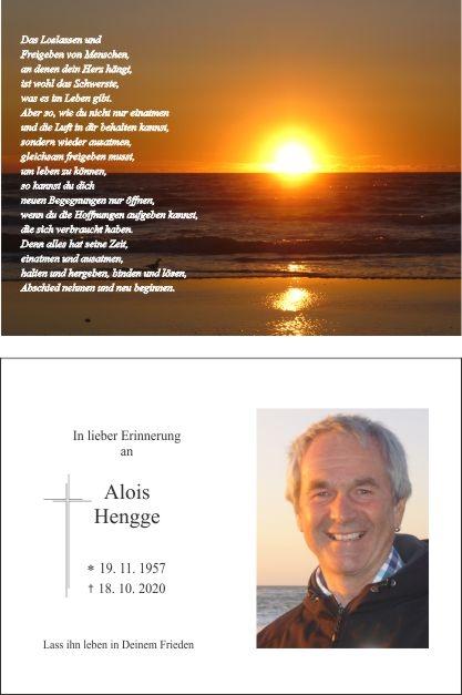 Alois Hengge