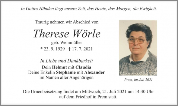 Therese Wörle
