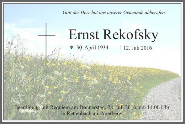 Ernst Rekofsky