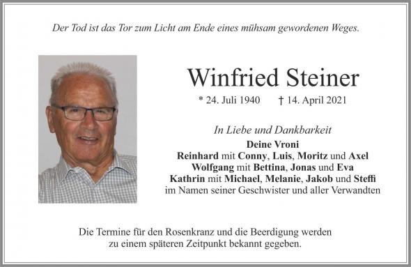 Winfried Steiner