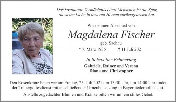 Maria Magdalena Fischer