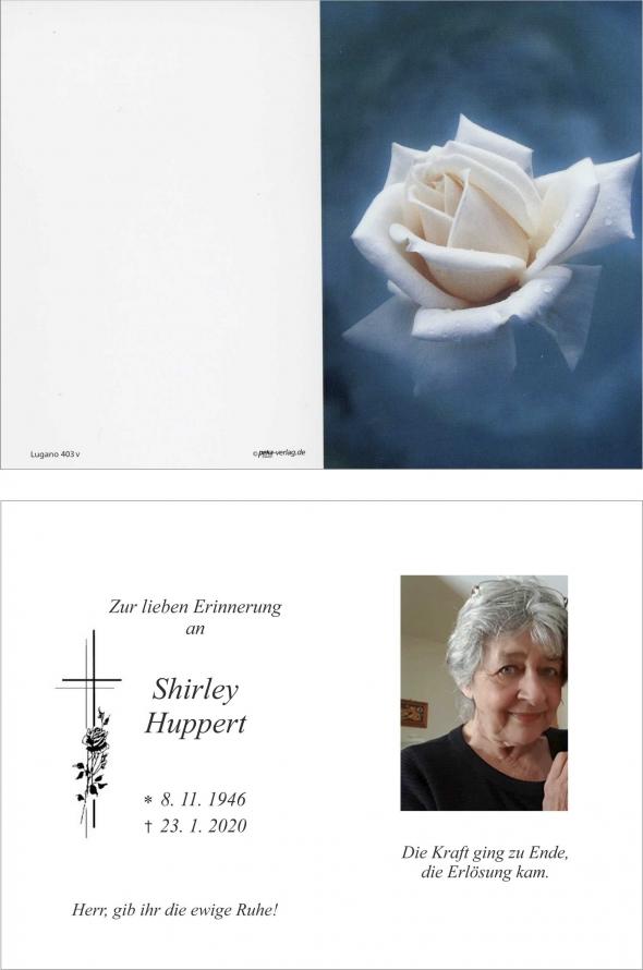 Shirley Huppert
