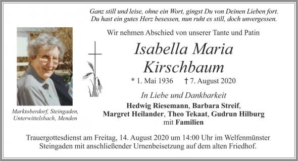 Isabella Maria Kirschbaum