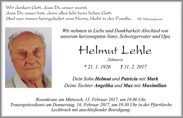 Lehle Helmut
