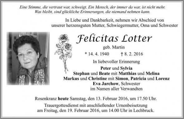 Felicitas Lotter