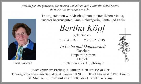Bertha Köpf