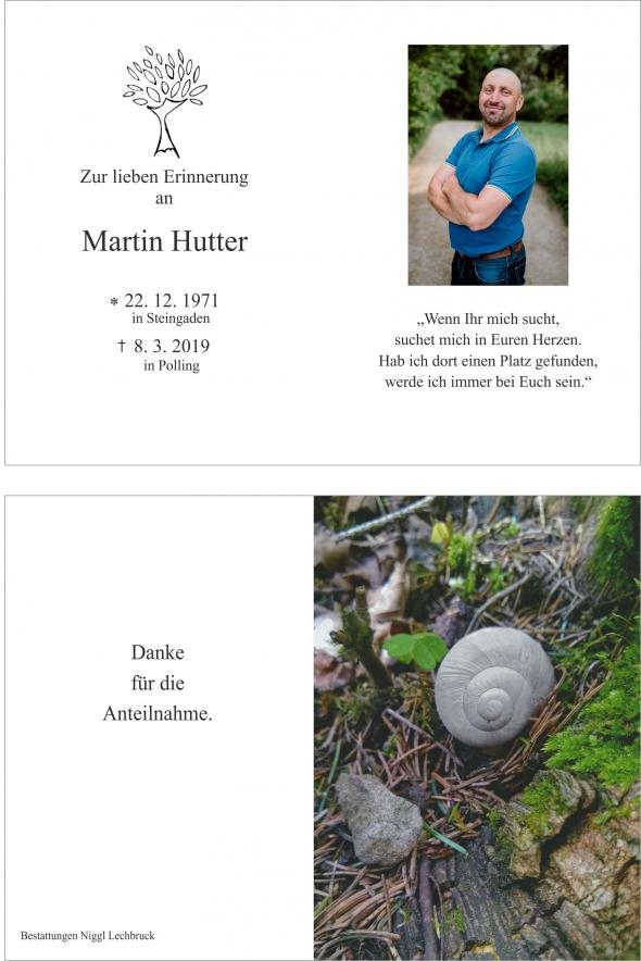 Martin Hutter