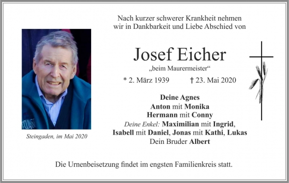 Josef Eicher
