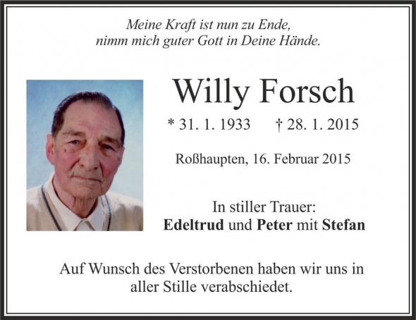 Willy Forsch
