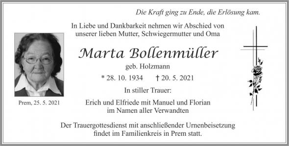 Marta Bollenmüller