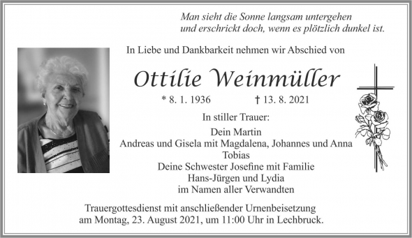 Ottilie Weinmüller