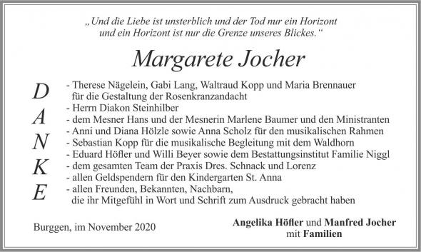 Margarete Jocher