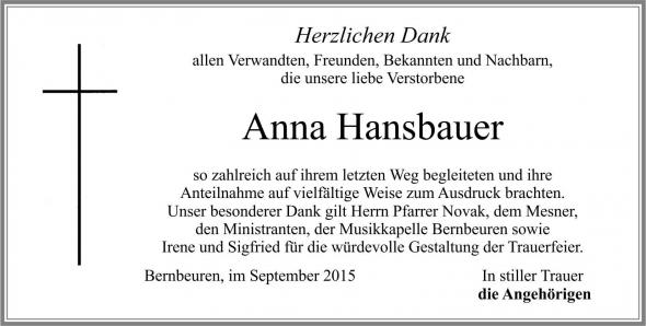 Anna Hansbauer