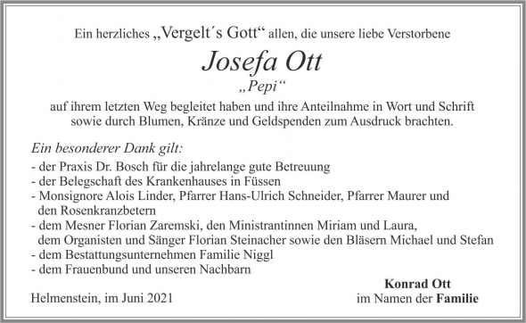 Josefa Ott