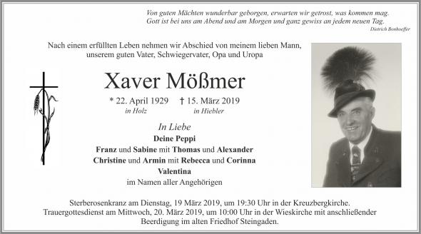 Xaver Mößmer