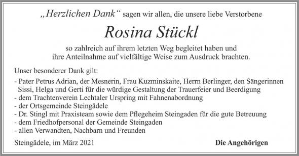 Rosina Stückl