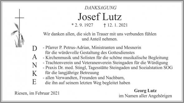 Josef Lutz