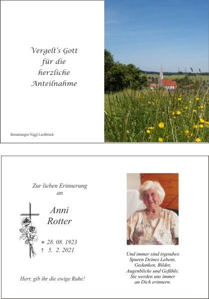 Anni Rotter