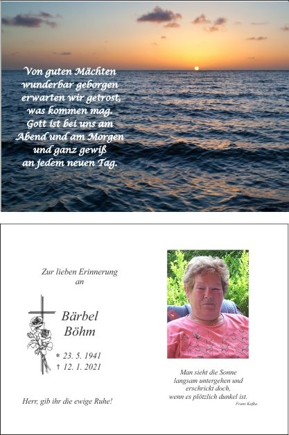 Bärbel Böhm