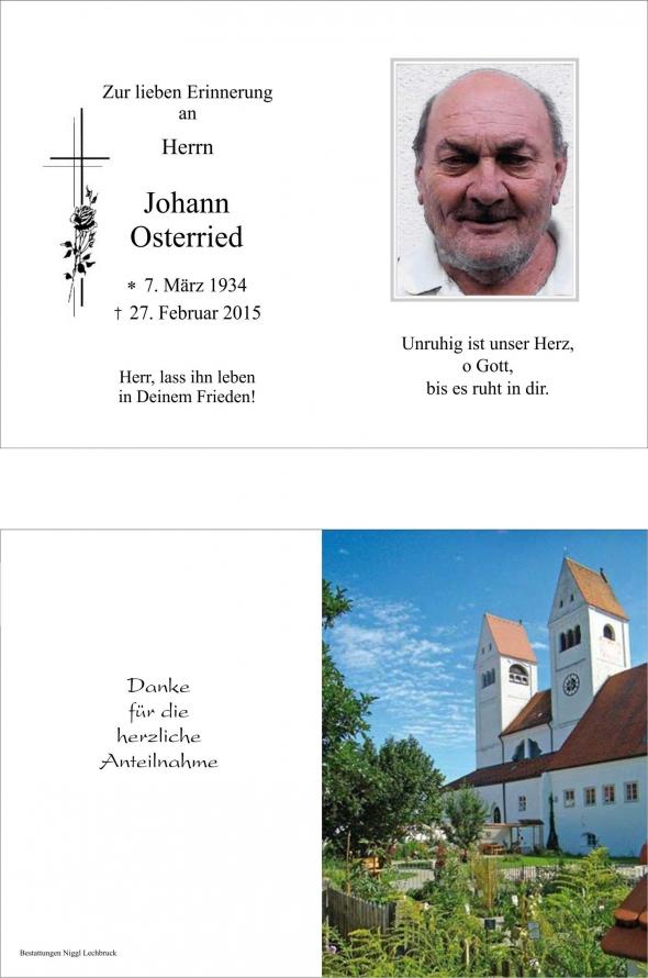 Johann Osterried
