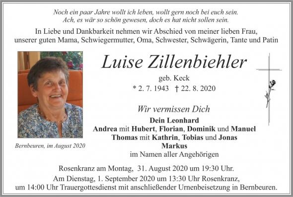 Luise Zillenbiehler