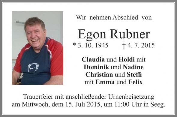 Egon Rubner