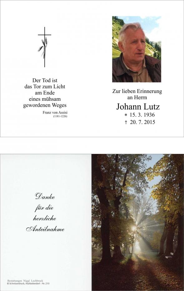 Johann Lutz