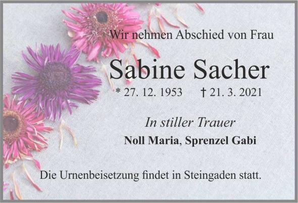 Sabine Sacher