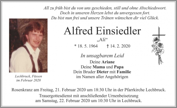 Alfred Einsiedler