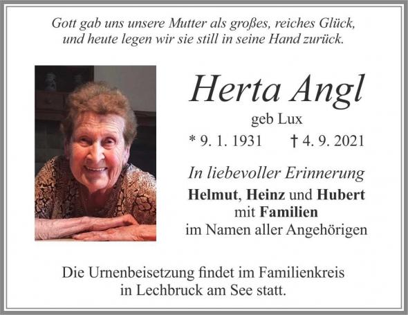Herta Angl