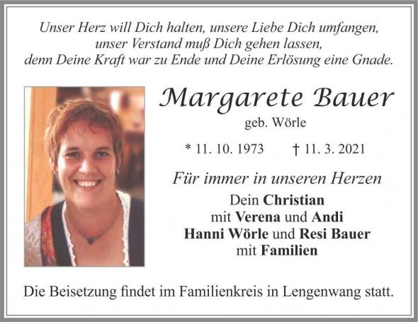 Margarete Bauer