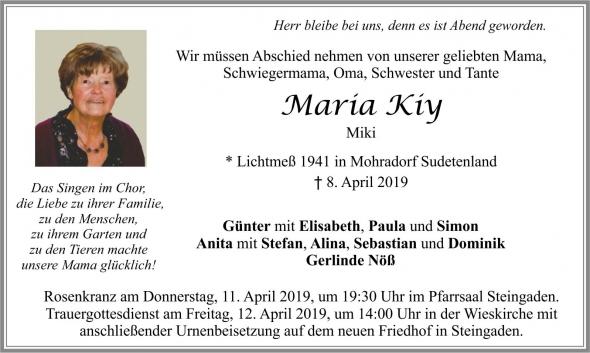 Maria Kiy