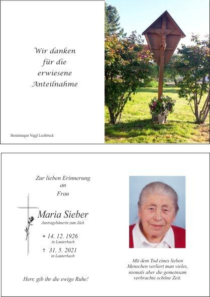 Maria Sieber