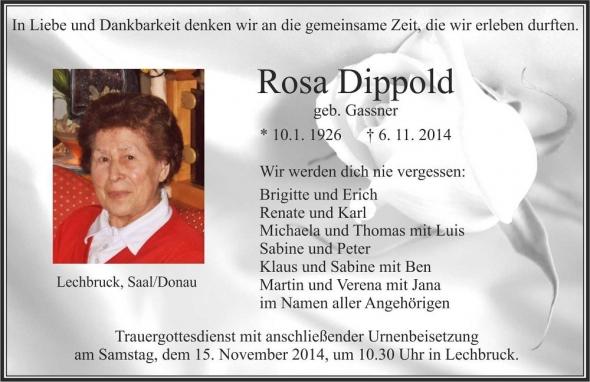 Rosa Dippold