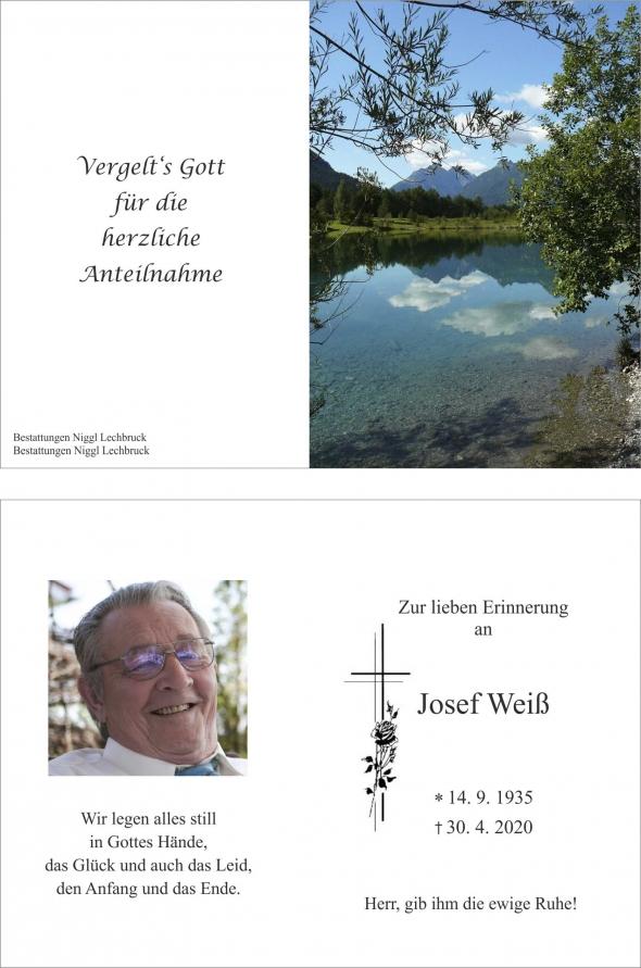 Josef Weiß